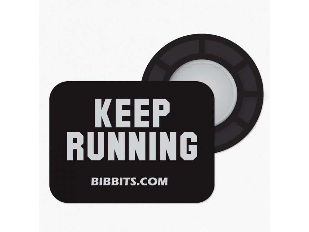 keep running zwart