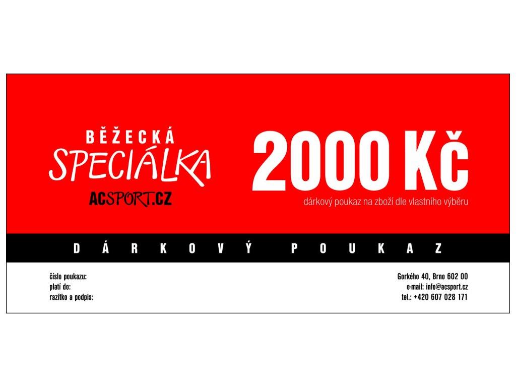 Darkovy poukaz 2000