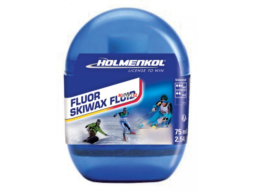 HOLMENKOL Fluor Skiwax fluid