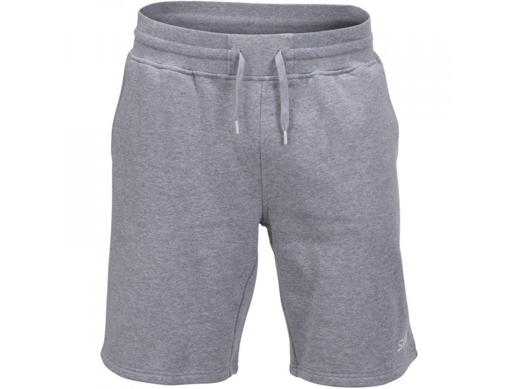 Swix SHORTS pánské kraťasy ze 100% bavlny - šedé