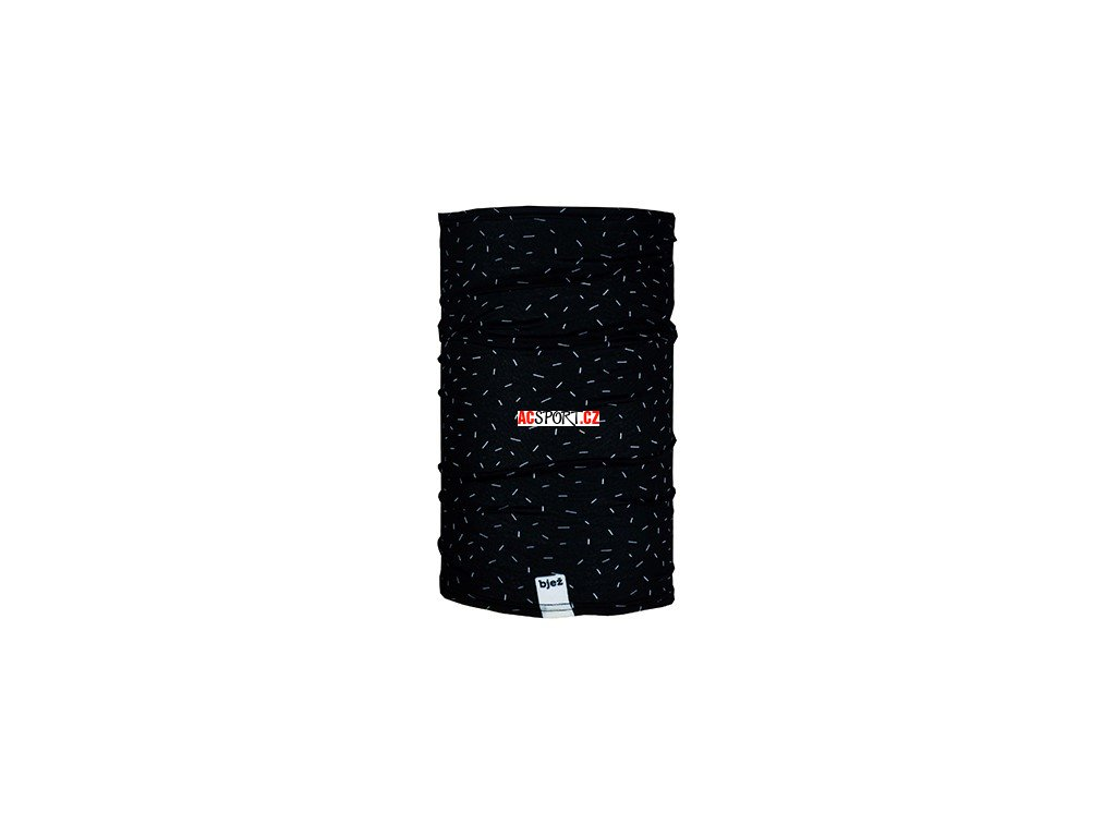 bjez scarf stroke black 1