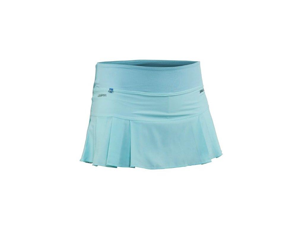Salming Strike Skirt Turquoise (Barva Světle modrá, Velikost S)