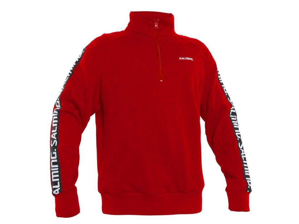 Salming Orca Sweatshirt (Barva Červená, Velikost XL)