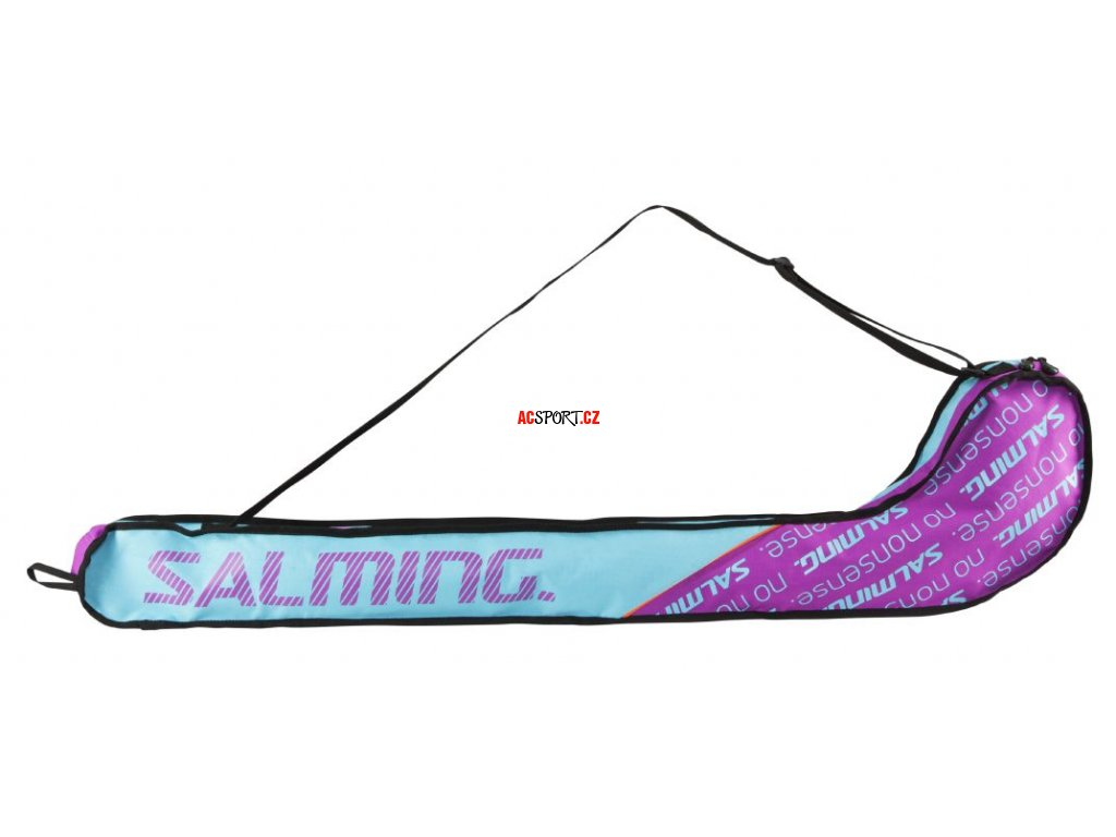 9509 salming tour stickbag turquoise purple