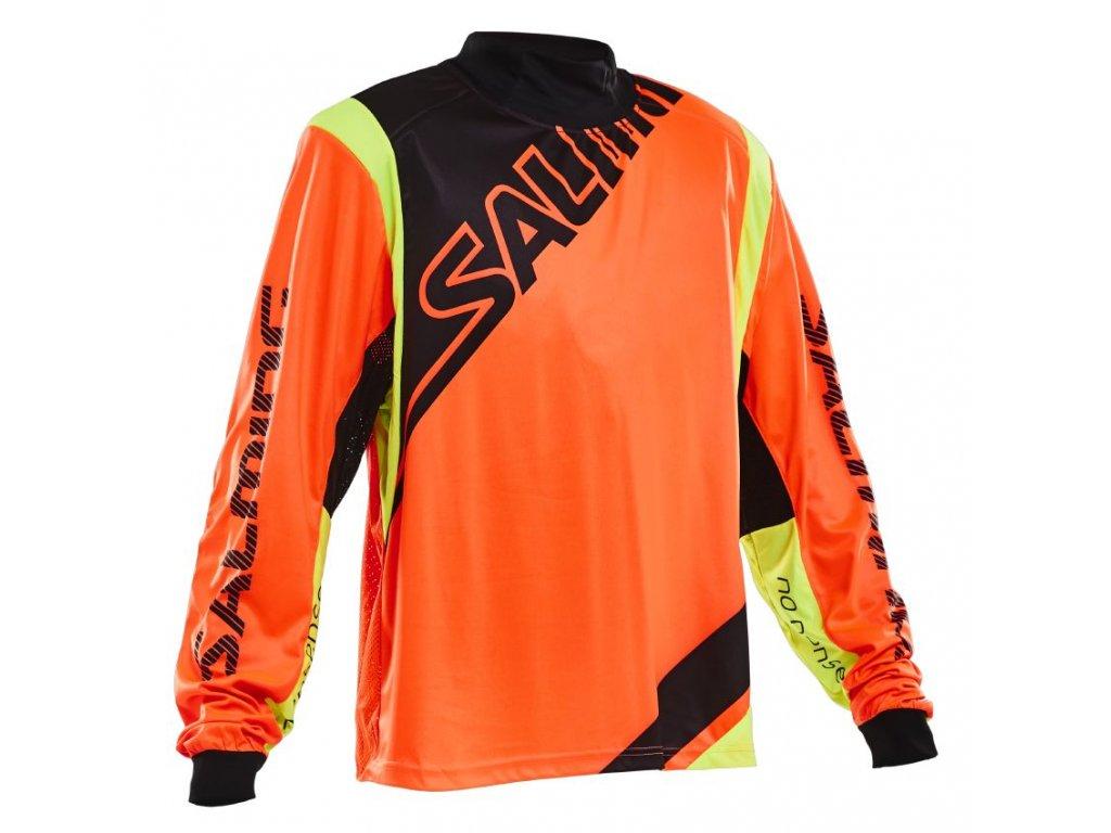 Salming Phoenix Goalie Jsy SR Orange (Velikost XXL)