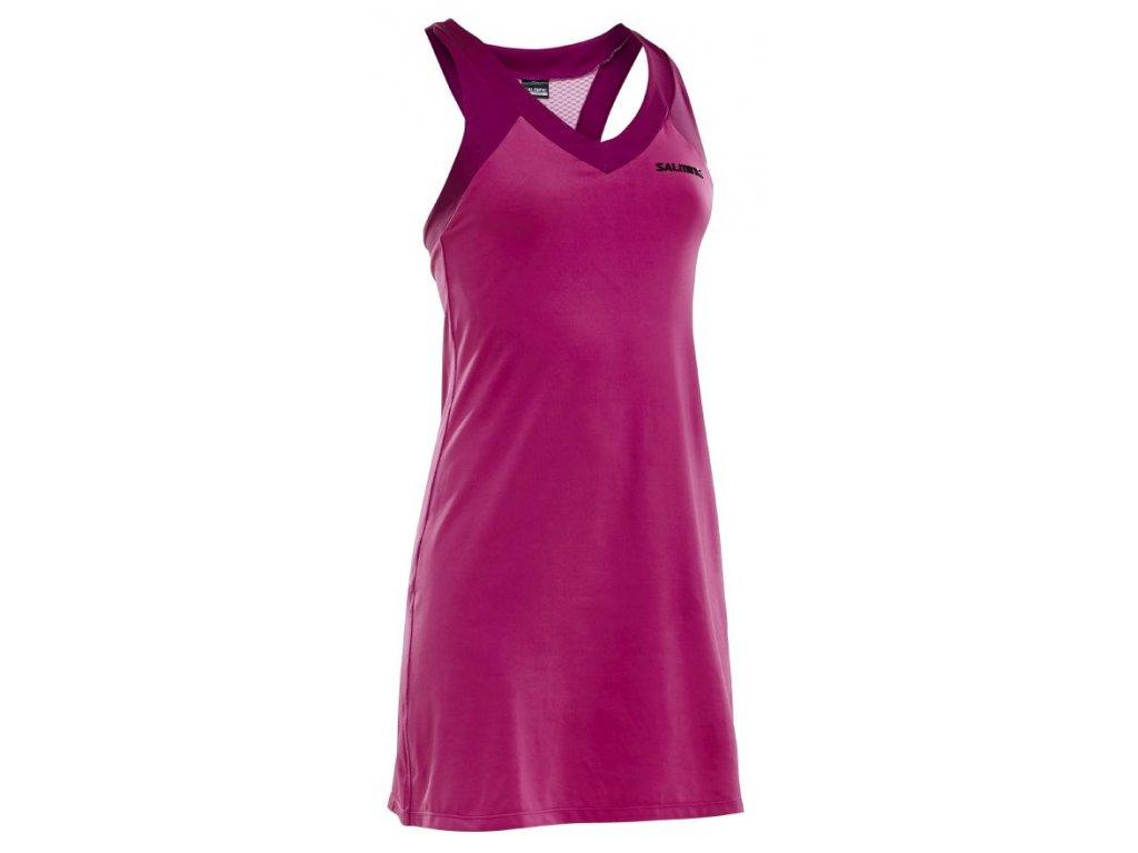 Salming Strike Dress Azalea Pink (Barva Růžová, Velikost XS)