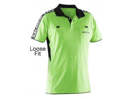 Salming Referee Polo Loose fit (Barva Zelená, Velikost XXL)