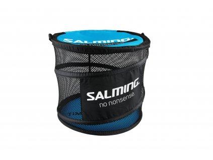 10169 salming floorball bag barrel cyan black