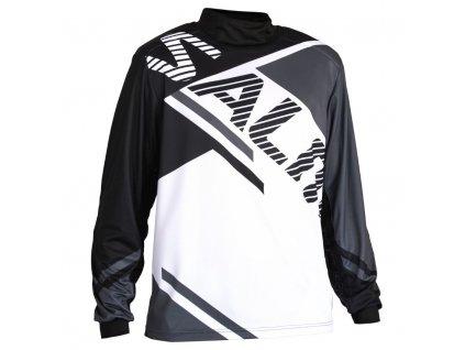 Salming Atilla Goalie Jersey SR Grey/Black (Velikost XXL)
