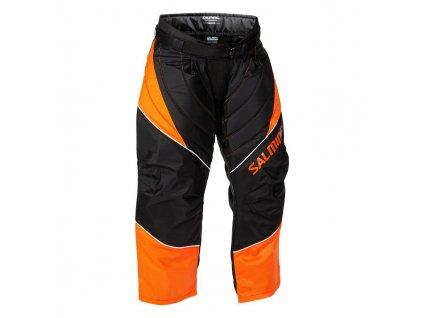 Salming Atlas Goalie Pant JR Orange/Black (Velikost 164)