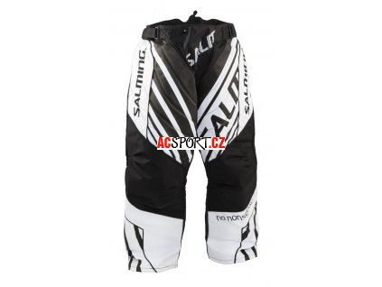 Salming Phoenix Goalie Pant JR Black/White (Velikost 164)