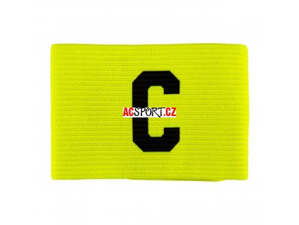 10496 salming team captain armband fluo yellow