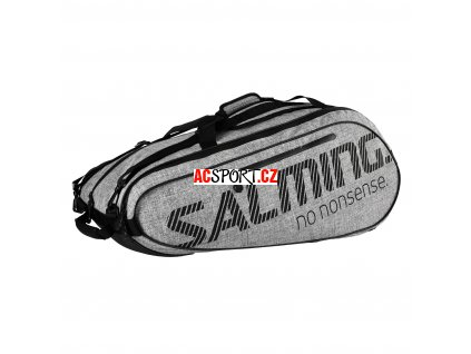 10712 salming tour 9r racket bag grey
