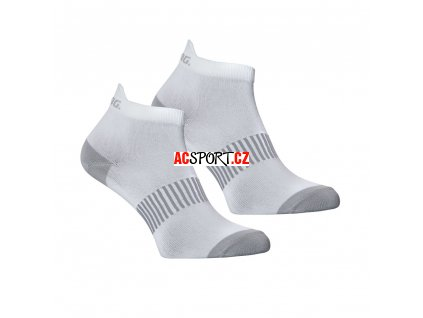 Salming Performance Ankle Sock 2p White (Velikost 43-46)