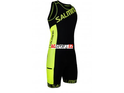 Salming Triathlon Suit Men Black/Yellow (Velikost XXL)