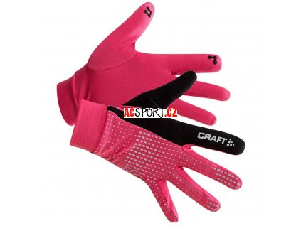 craft thermal glove pink