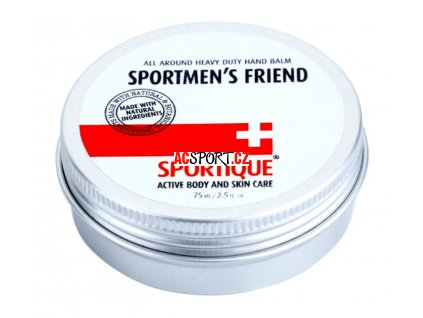 sportique sports hand balm for dry and damaged skin for sportsmen