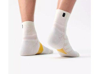 On mid sock White Ice+