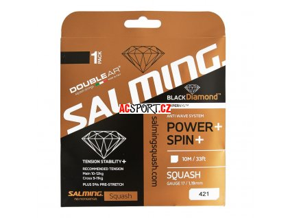 14253 salming black diamond string black single