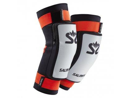 Salming E-Series Kneepads White/Orange