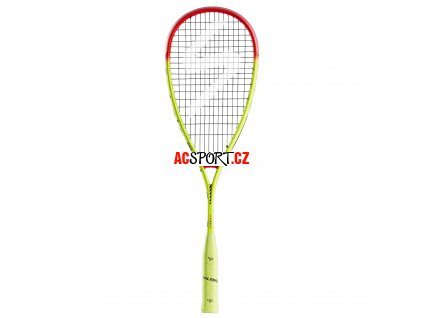 Salming Grit PowerLite Racket Fluo Yellow/Red