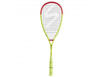 Salming Grit PowerLite Racket Fluo Yellow/Red