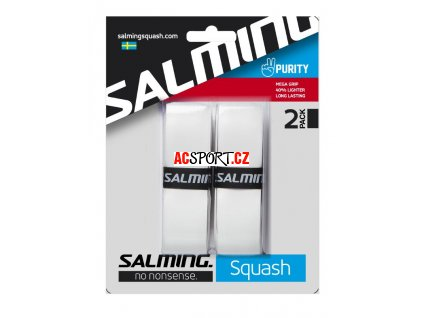 Salming Squash Purity Grip White