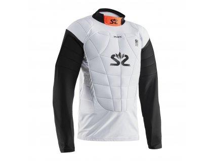 Salming E-Series Protective Vest White/Orange