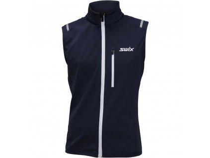 Swix ENDURE WARM pánská vesta - modrá