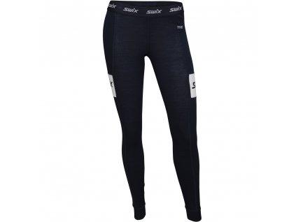 Swix RACEX WARM dámské kalhoty - tmavě modré