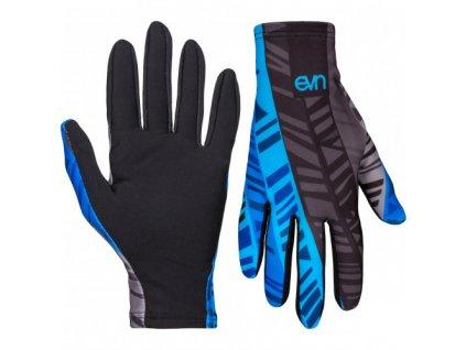 bezecke rukavice eleven pass blue