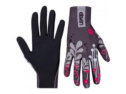 bezecke rukavice eleven meadow grey