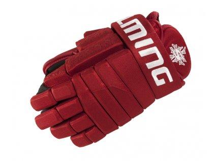 Salming Gloves M11 Red (Velikosti rukavic Velikost 15)