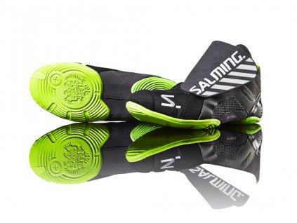 Salming Slide 3 Goalie Shoe GunMetal (Velikost bot 48 EUR)