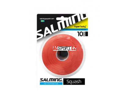 9680 salming supertacky overgrip brick red