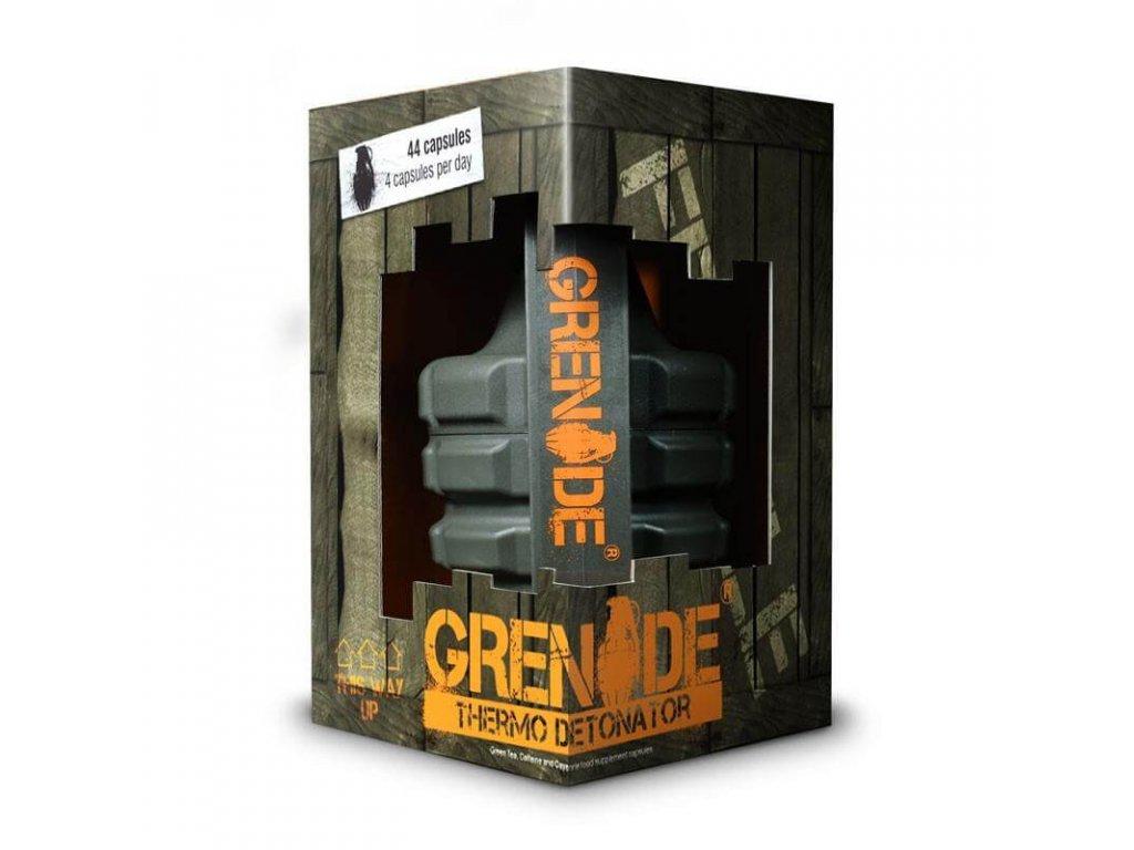 Grenade THERMO DETONATOR (Obsah 100 kapslí, Příchuť bez příchutě)
