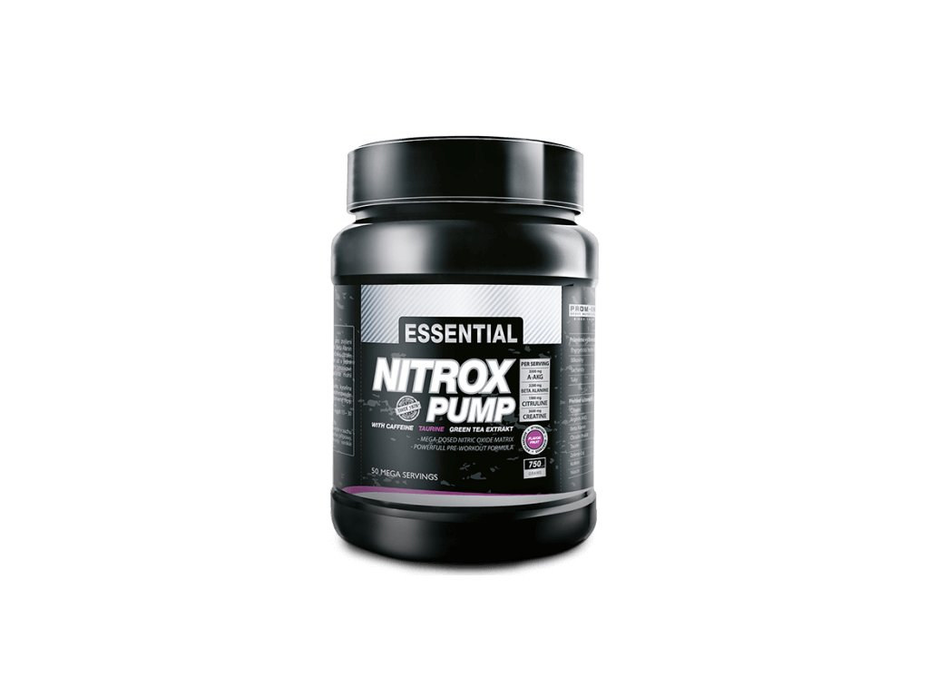 Prom-in Nitrox Pump 750g (Obsah 750 g, Příchuť cola)