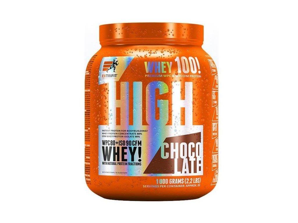 Extrifit High Whey 80 (Obsah 2270 g, Příchuť vanilka)
