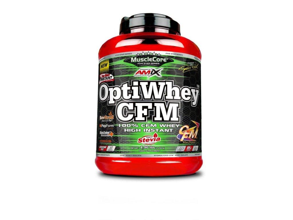 Amix OptiWhey CFM (Obsah 2250 g, Příchuť Creamy vanilla milk)