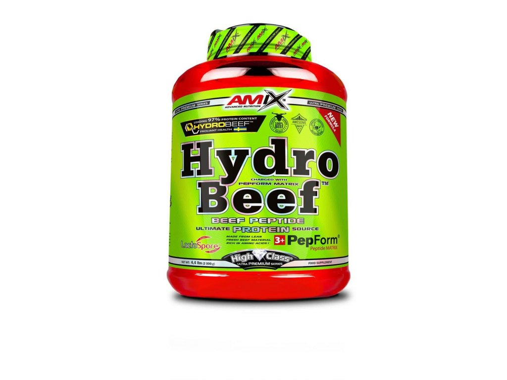 Amix Hydro Beef (Obsah 2000 g, Příchuť Chocolate with wild berry)