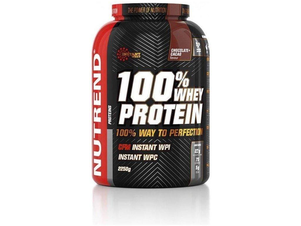 Nutrend 100% Whey Protein (Obsah 900 g, Příchuť vanilka)