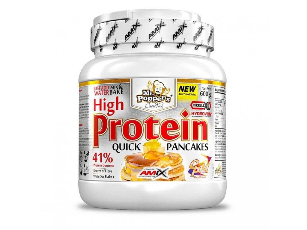 Amix High Protein Pancakes (Obsah 600 g, Příchuť vanilka | jogurt)