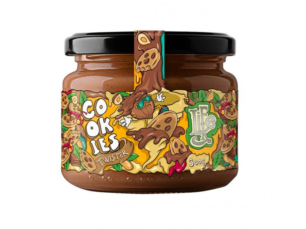 3354 1 lifelike cookies twister 300g