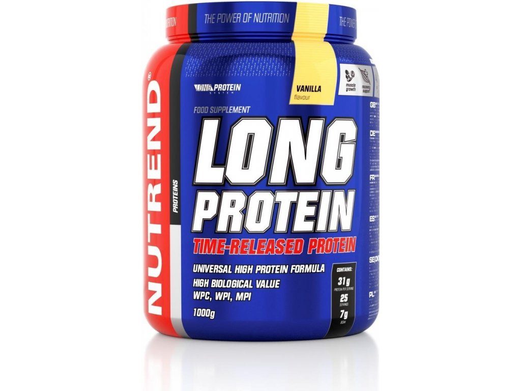 Nutrend Long Protein (Obsah MASTER)