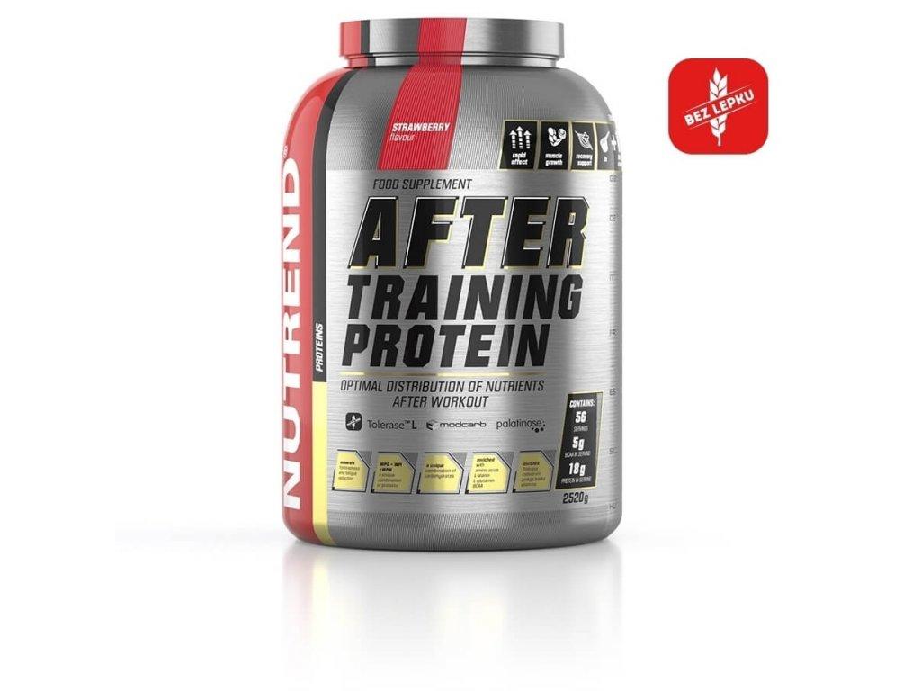 NUTREND After Training Protein (Obsah 540 g, Příchuť vanilka)
