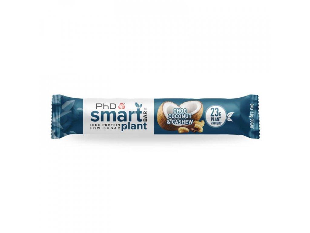PhD Nutrition Smart Plant Bar 64g (Obsah 64 g, Příchuť choc toffee popcorn)