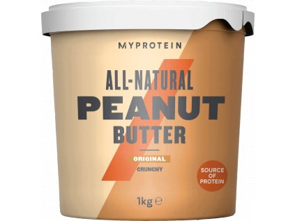 Myprotein Peanut Butter 1000g (Arašídové máslo) (Obsah 1000 g, Příchuť smooth)