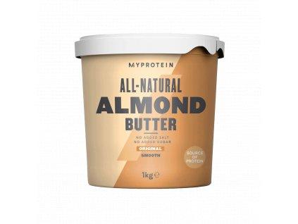 Myprotein Almond Butter 1000g (Mandlové máslo) (Obsah 1000 g, Příchuť smooth)