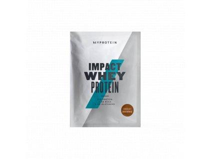 Myprotein Impact Whey Protein - vzorek (Obsah 25 g, Příchuť vanilka/malina)