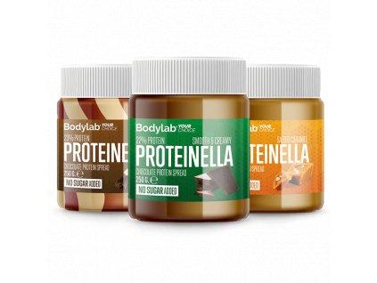 Bodylab Proteinella 250 g (Obsah 250 g, Příchuť jemné oříšky)